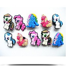 Discount 10 My Little Pony Shoe Charms For Jibbitz