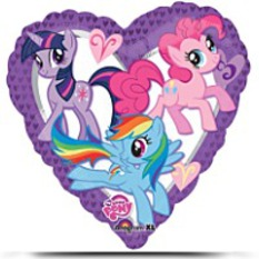 Discount 18 Inch My Little Pony Heart Foil Balloon