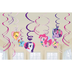 little pony swirl decorations friendship