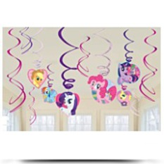 Discount My Little Pony Swirl Decorations