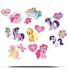 Discount My Little Pony Tattoos 16CT