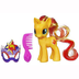little pony sunset shimmer masquerade it's
