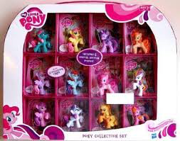 My Little Pony Exclusive 12PACK Pony Collection Set Includes 6 Special Edition Ponies !