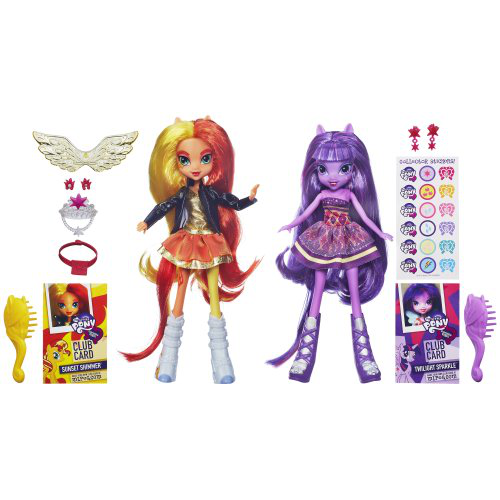 Equestria Girls Sunset Shimmer And Twilight